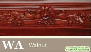 walnut, natural, warna finishing, warna kayu, jenis warna kayu, jenis warna finishing, contoh warna finishing, contoh warna Walnut