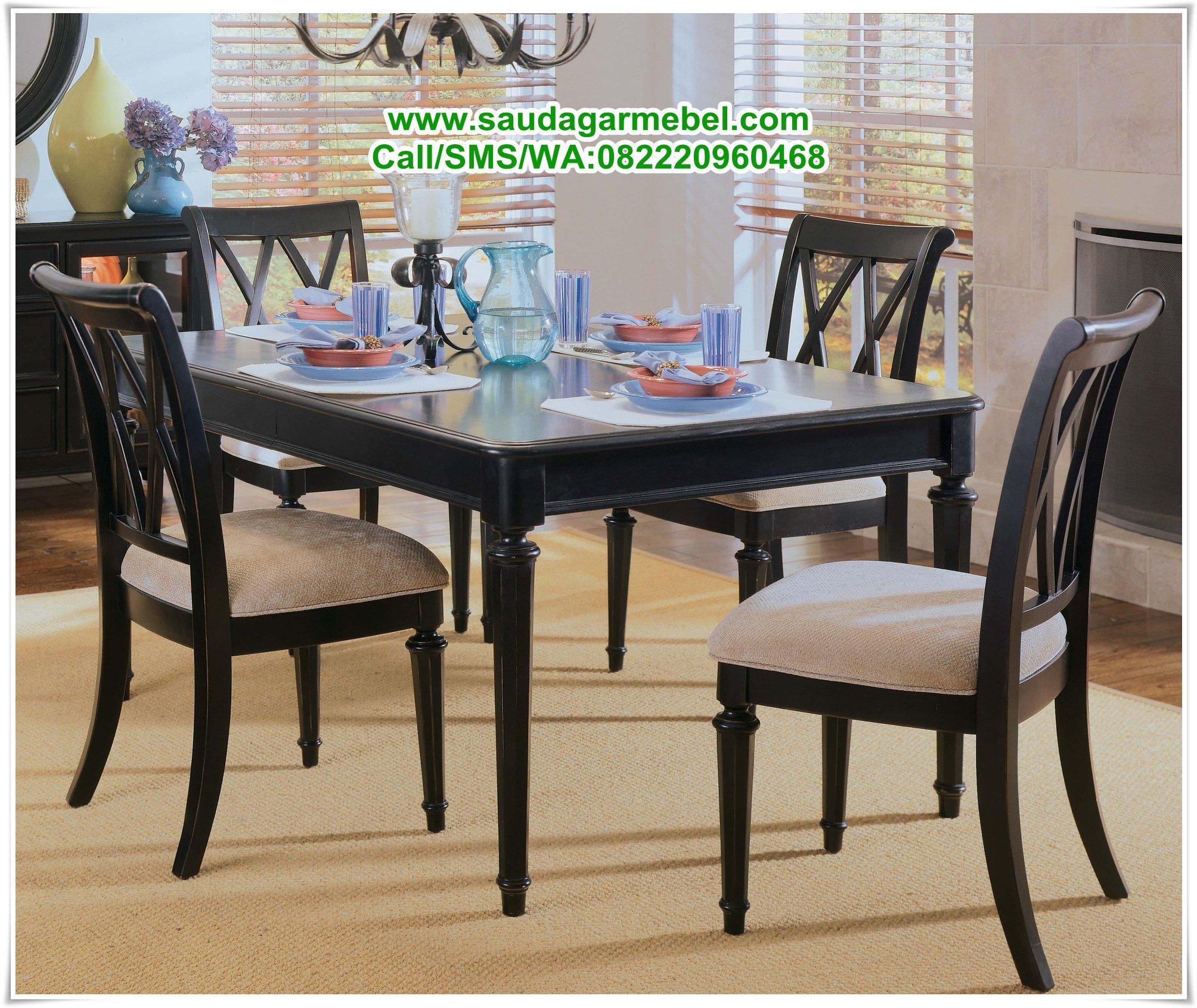 Set meja makan minimalis jakarta jual meja makan model meja makan minimalis terbaru