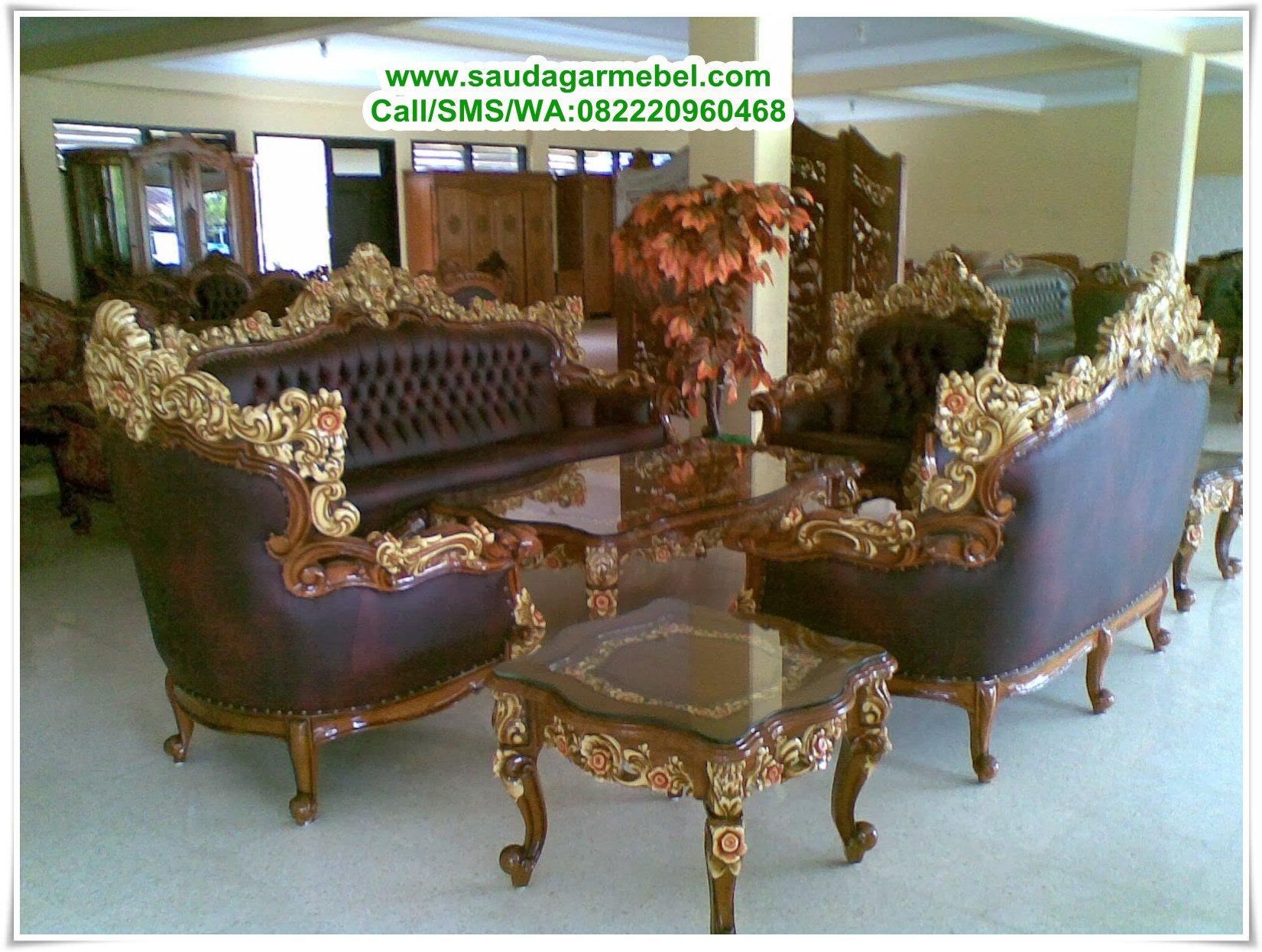Toko Furniture Medan Kursi Sofa Tamu Barcelona Terbaru