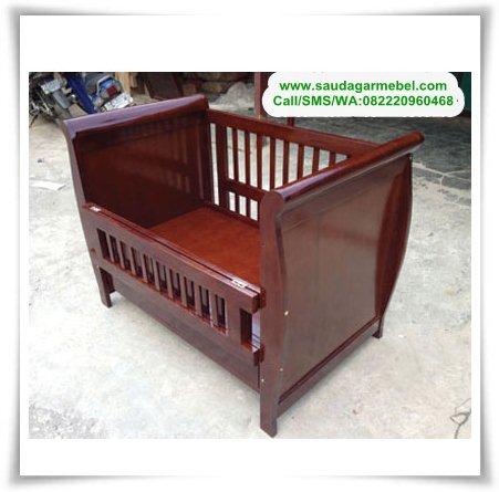 Ranjang Anak Minimalis Terbaru, ranjang anak terbaru, box bayi kayu jati, box bayi minimalis,