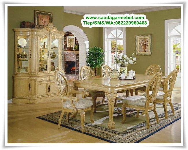 Meja Makan Mewah Louis Klasik, Model Set Meja Makan, Harga Set Meja Makan, Meja Makan Minimalis, Kursi Makan, Kursi Makan Minimalis