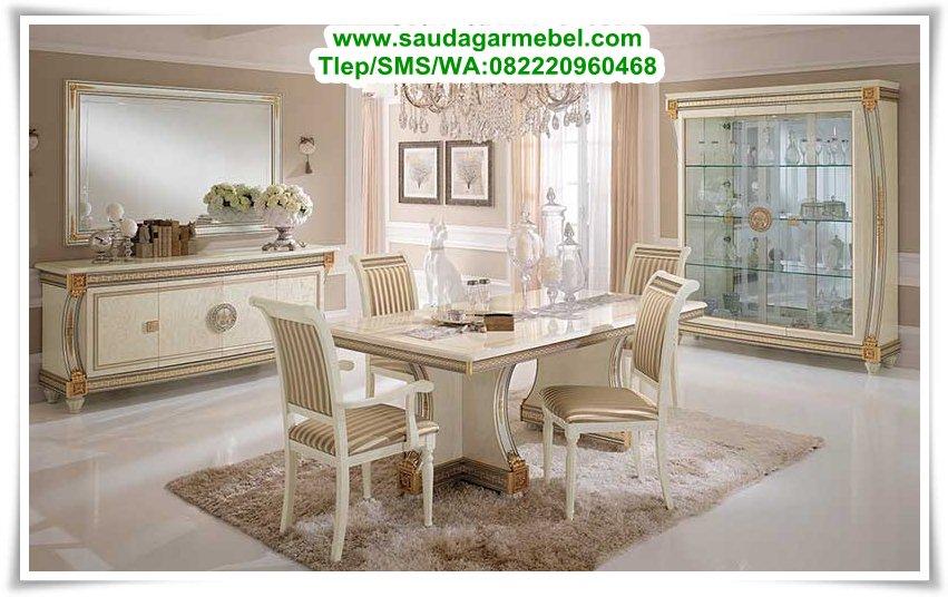 Toko mebel murah jakarta pusat set meja makan mewah for Riviste interior design