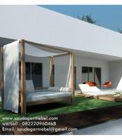 Outdoor Bed Pantai Bali, Gazebo Pantai, Model Outdoor Pantai Bali, Gazebo Pantai Bali, Gazebo Pantai Jati, Outdoor Bed Tipe Bali, Longer Pantai Bali, Outdoor Bed Pantai Guanyar