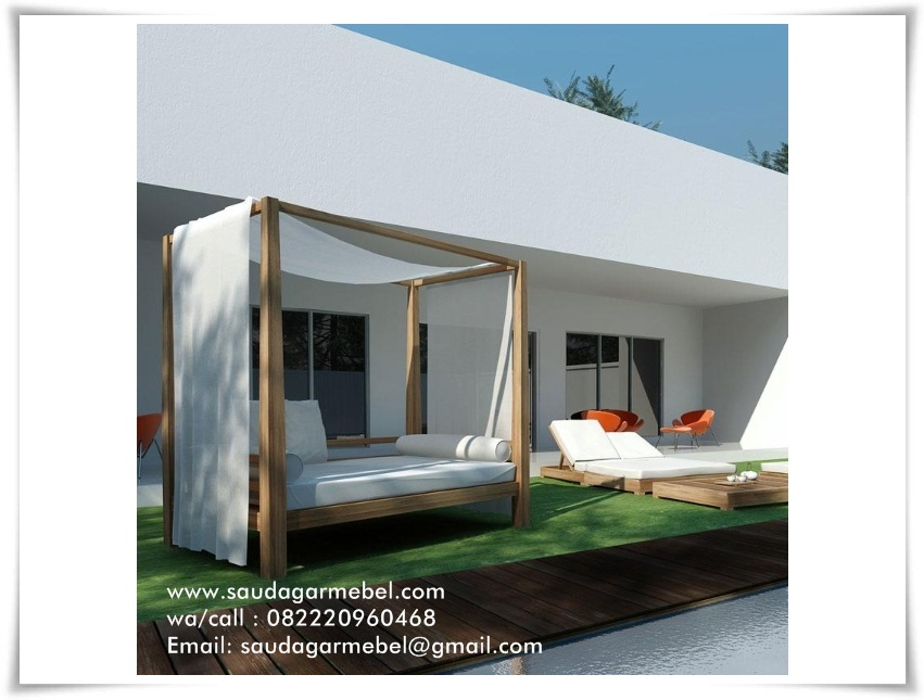 Outdoor Bed Pantai Bali, Gazebo Pantai, Model Outdoor Pantai Bali, Gazebo Pantai Bali, Gazebo Pantai Jati, Outdoor Bed Tipe Bali, Longer Pantai Bali, Outdoor Bed Pantai Guanyar