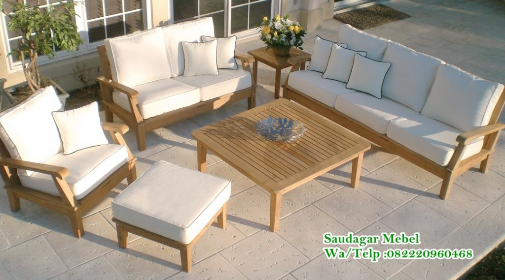 Craftsman Lounge Set Sofa Outdoor,Lounger sofa, sofa outdoor, teak sofa, teak gallery, lounge set, sofa minimalis, set sofa outdoor, saudagar mebel, teak furniture sofa