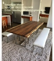 Black Walnut Set Dining Table