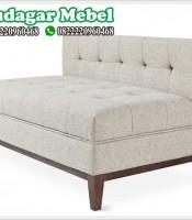 Kursi Sofa Retro Minimalis 2 Dudukan Mewah Terbaru