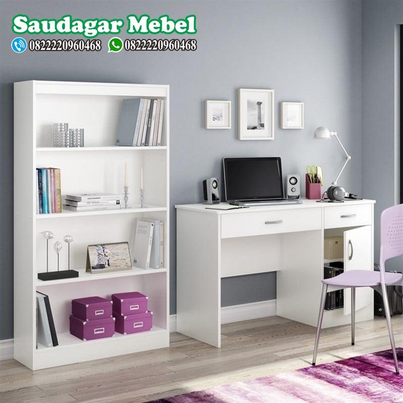 Set Meja Kantor Minimalis Mewah