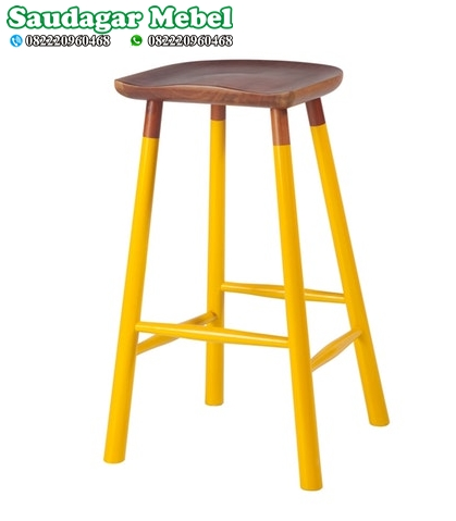 Bar Stool Kuning Terbaru
