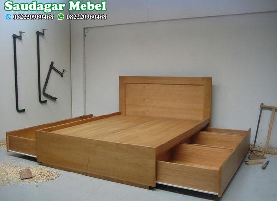 Tempat Tidur Minimalis Mulfitungsi Terbaru