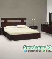 Set Tempat Tidur Minimalis Modern Produksi Jepara