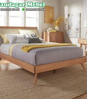 Tempat Tidur Modern Retro