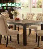 Set Kursi Makan dan Meja Model Minimalis Terbaru