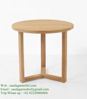 Round-Side-Table-Teak-Patio