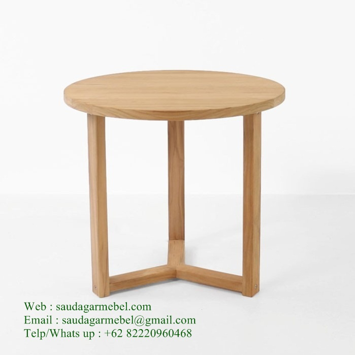 Round-Side-Table-Teak-Patio