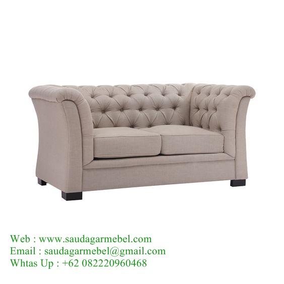 Luxury Velvet Sofa Teak Patio