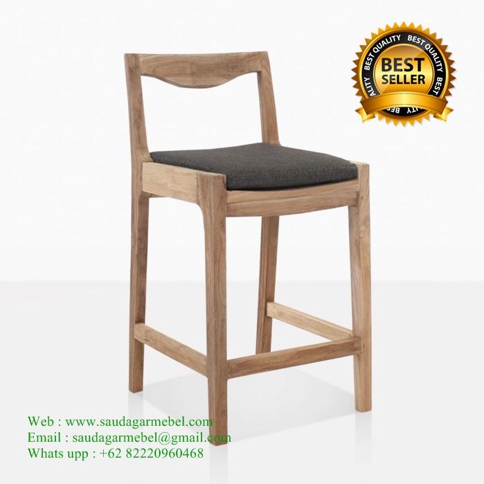 Wholes Bar Chair Teak Patio