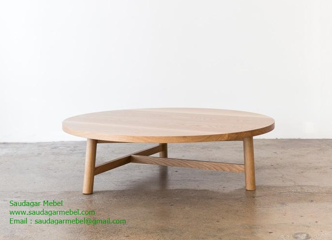 Ailsa Irregular Oval Coffee Table