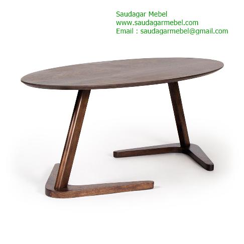 Boomerang Coffee Table Contemporer