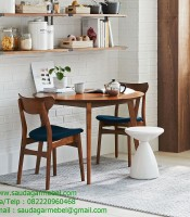 Neil Teak Dining Chairs Solid Wood