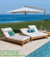 Indonesia Wood Casita Chaise Longer