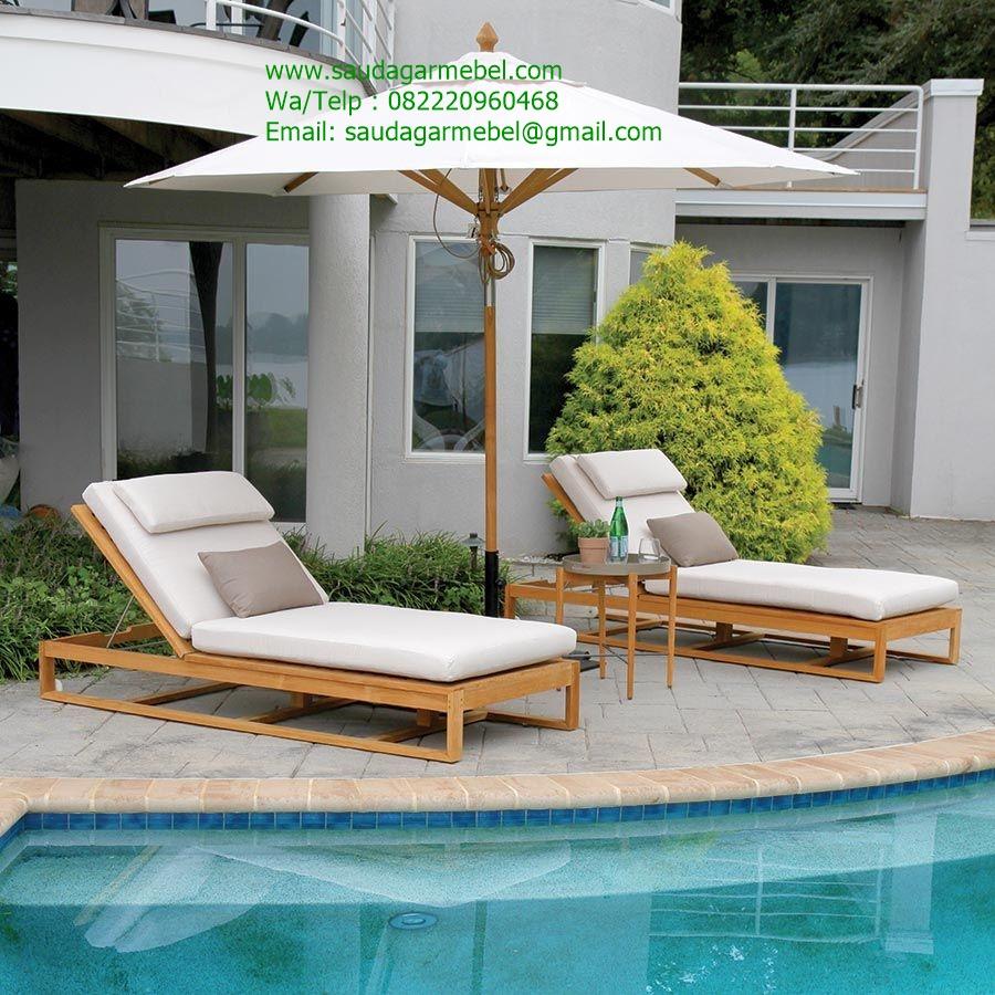 Java Lounger Sumiming Pool Teak Wood