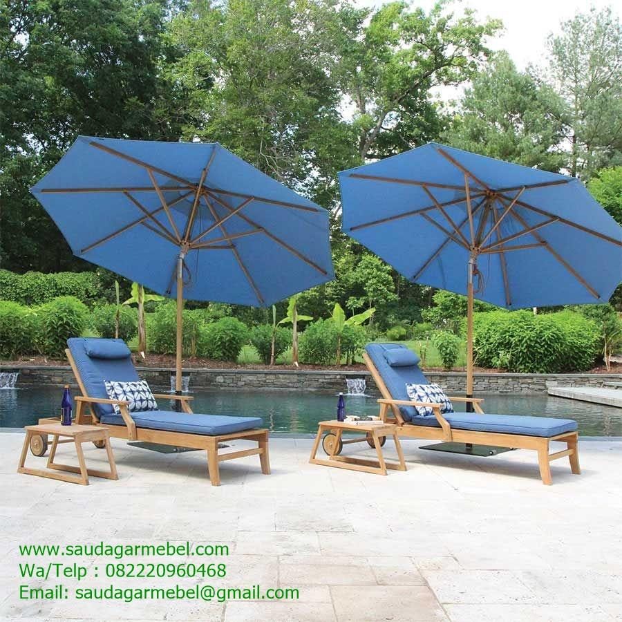 Tropical Poolside Lounger Java Furniture