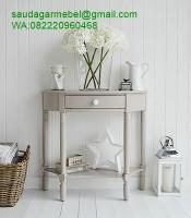 Meja Dinding Ruangan Sudut